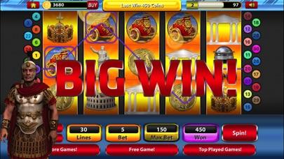 Roman Battle Slot Machine Jackpot Casino Games screenshot two