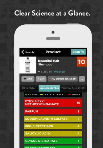 Think Dirty – Shop Clean screenshot 3