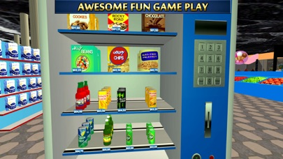 Vending Machine 3D Simulator & Fun Snack Games screenshot one