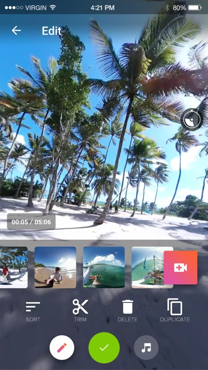 V360 - 360 video editor screenshot-0
