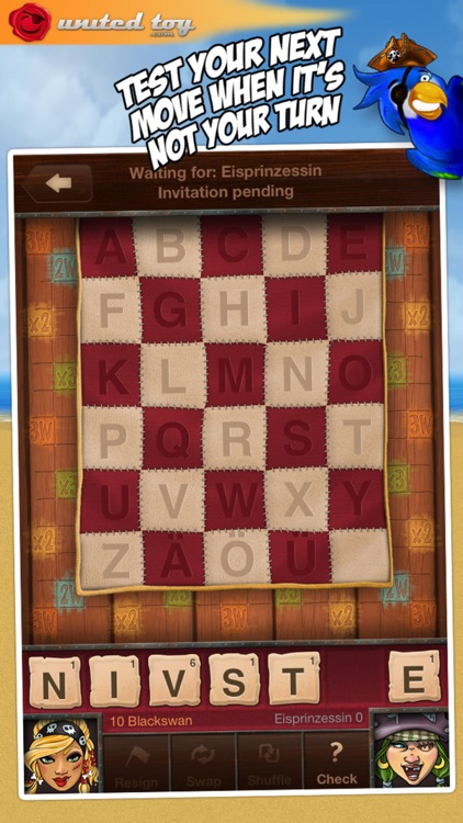 Words ~ a Scrabble like game ~ turn-based screenshot-4