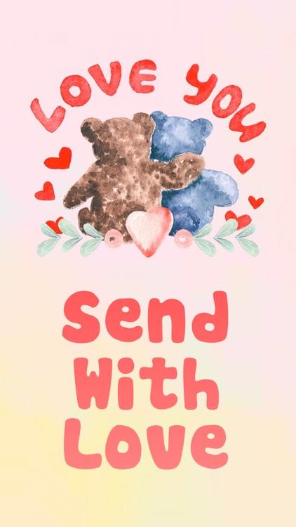 Good night my love watercolor romantic greetings by sticker list good night my love watercolor romantic greetings m4hsunfo