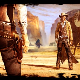 Wild West Cowboy Shooting: Six Gun Bounty Hunter