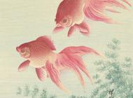 Ohara Koson Artworks Stickers