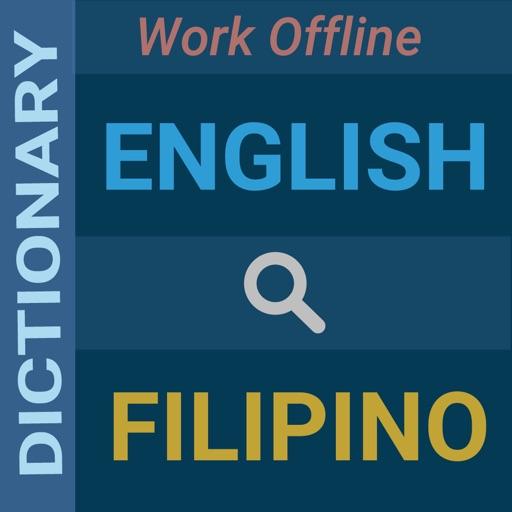 English : Filipino Dictionary by Saiful Islam