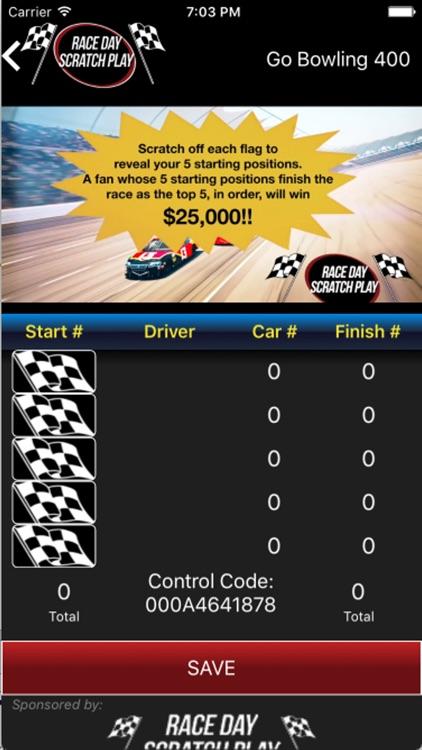 Race Day Scratch Play screenshot-3