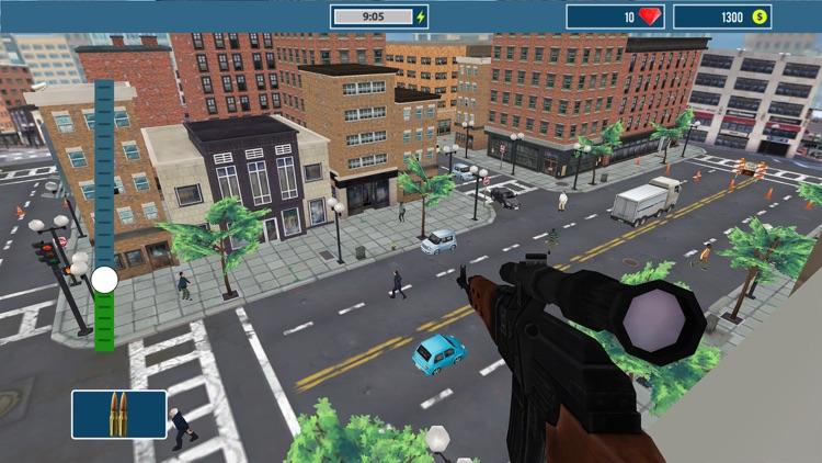 Urban Sniper Rivals: Assassin Killer Strike