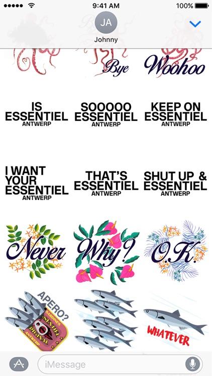 Essentiel Antwerp Stickers