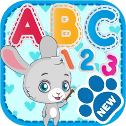 Cute Animal For Learning to Write The Alphabet