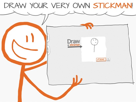 Draw A Stickman на iPad