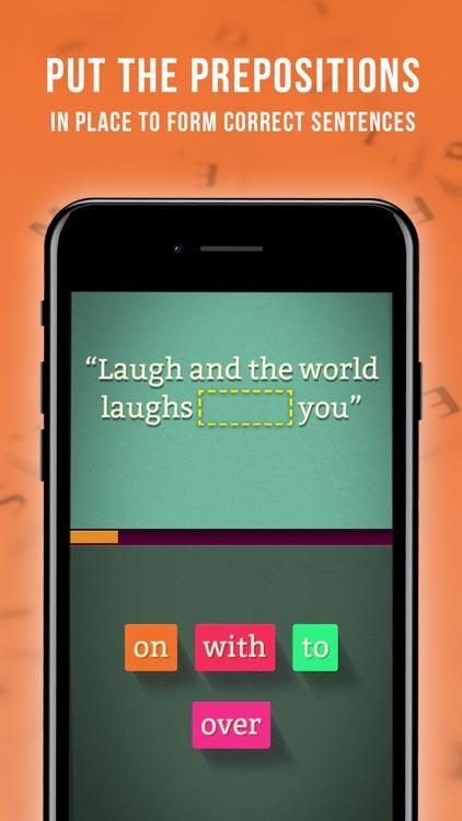 Preposition Master screenshot-0