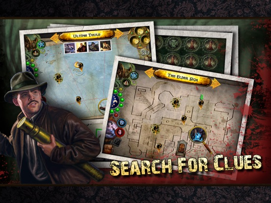 Elder Sign: Omens for iPad Screenshot
