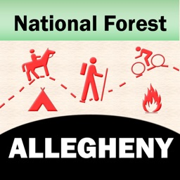 Allegheny National Forest – Offline Map Navigator