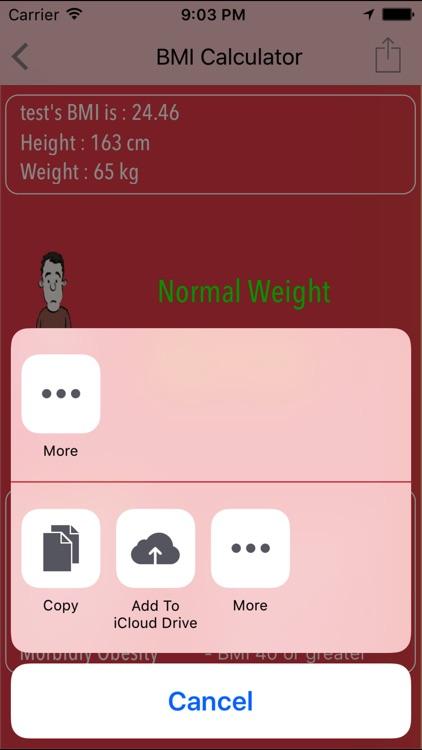 Advanced Body Mass Index