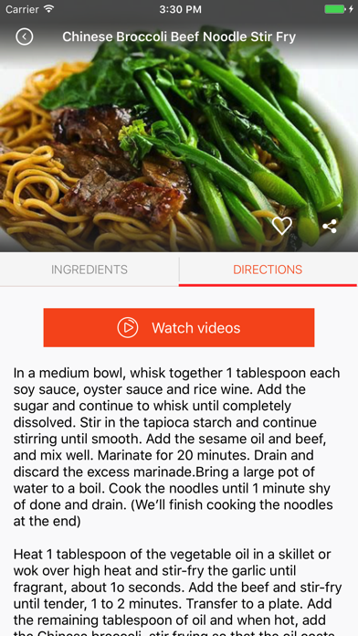 Chinese Recipes: Food recipes, cookbook, meal planScreenshot of 3