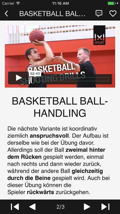 1x1 Basketball Training - Video Guide
