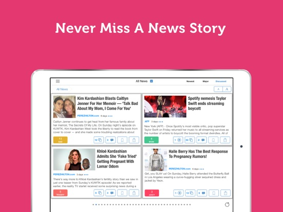 Celebrity News - Latest Celeb News, Gossip & Videos - Newsfusion screenshot