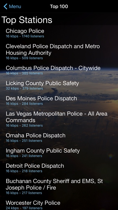 Police Scanner review screenshots