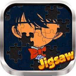 "Manga & Anime Jigsaw Photo Hd ""for Conan Cartoon """