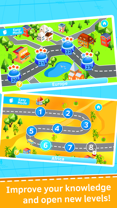 Geography quiz world countries, flags and capitals screenshot three