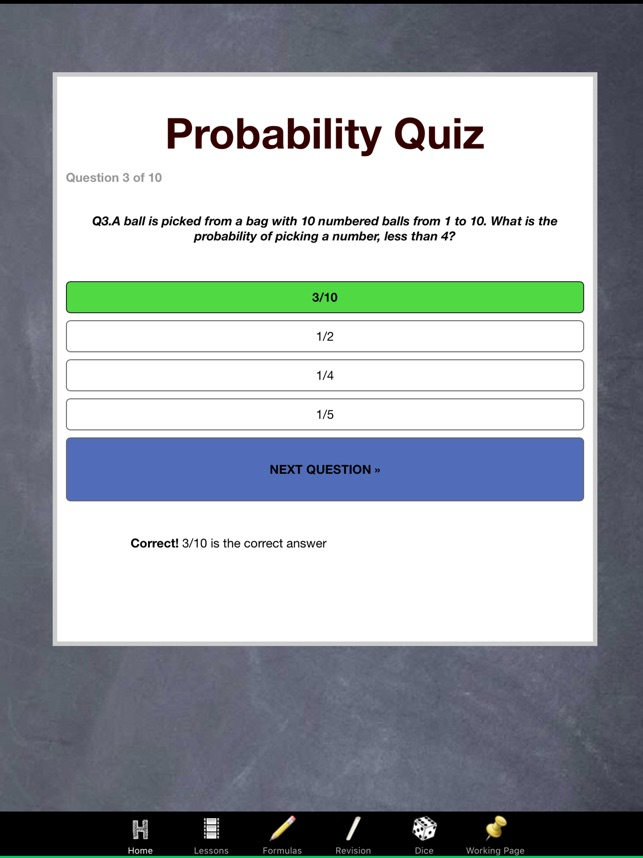 Probability Made Easy Maths on the App Store