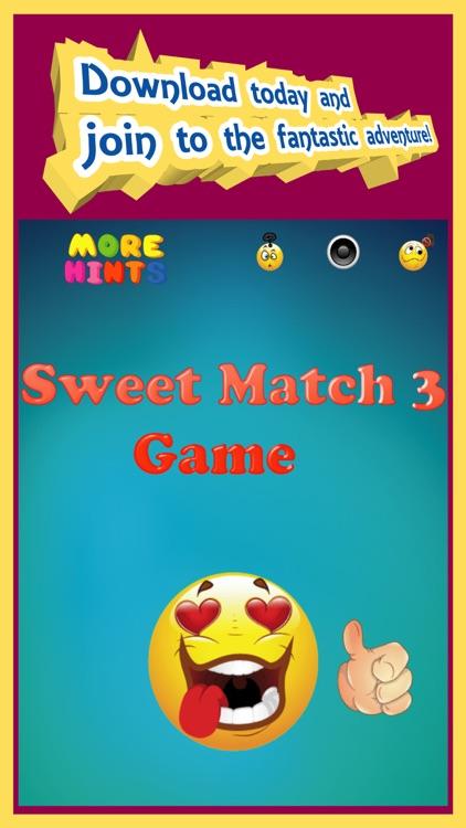 Sweet Match 3 Puzzle Game screenshot-3