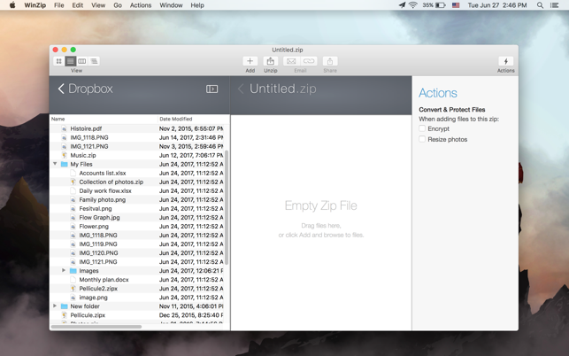 zip files app for mac
