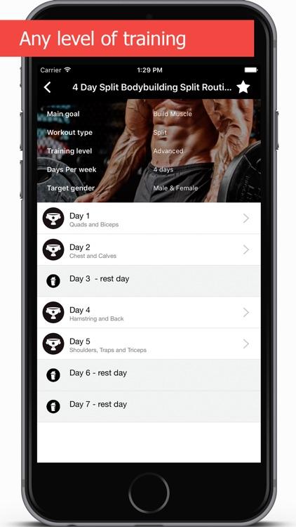 GymApp Pro Workout Log screenshot-4