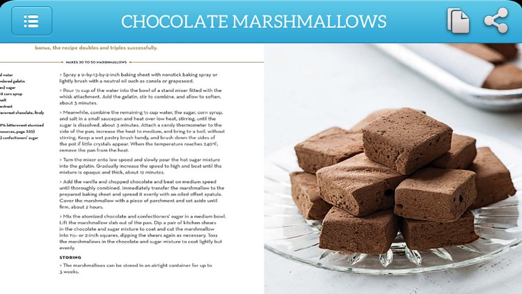 Dessert Recipes - Chocolates and Confections screenshot-2