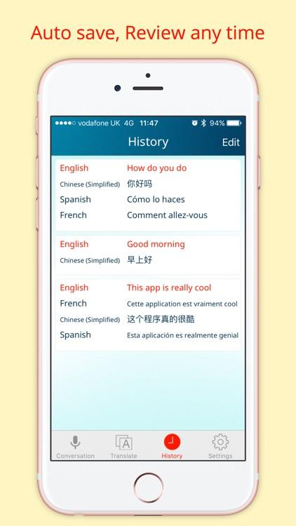 Instant Voice Translator Pro screenshot-4