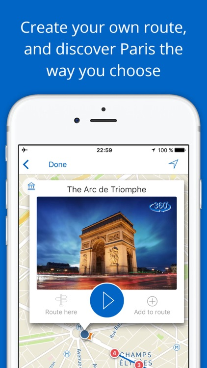 My Paris - Travel guide & map with sights - France screenshot-3