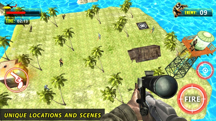 Helicopter Shooter : Warship Battle Attact 3D screenshot-4