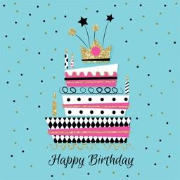 Animated Happy Birthday Card Stickers