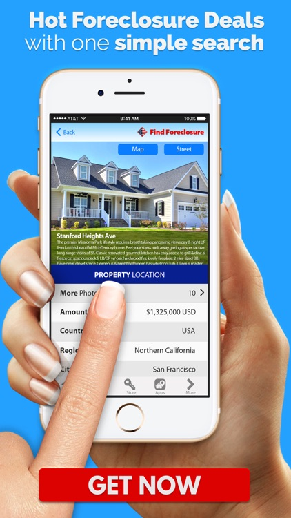 Urban Foreclosure Real Estate House for Sale app image
