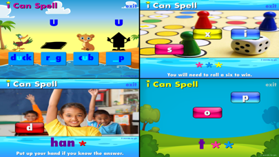 i Can Spell with Phonics CVC+ screenshot one
