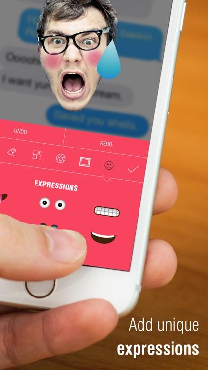 Emoji Me+ Create Face Emojis for iMessage