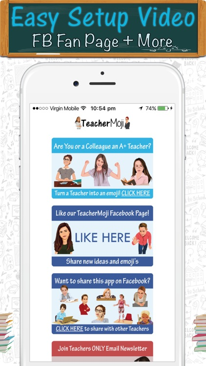 TeacherMoji - Teacher Emojis and Stickers! screenshot-4
