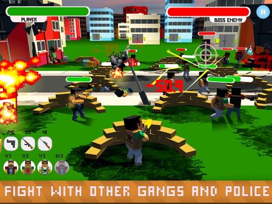 Blocky Shooter: Mafia War Full для iPad