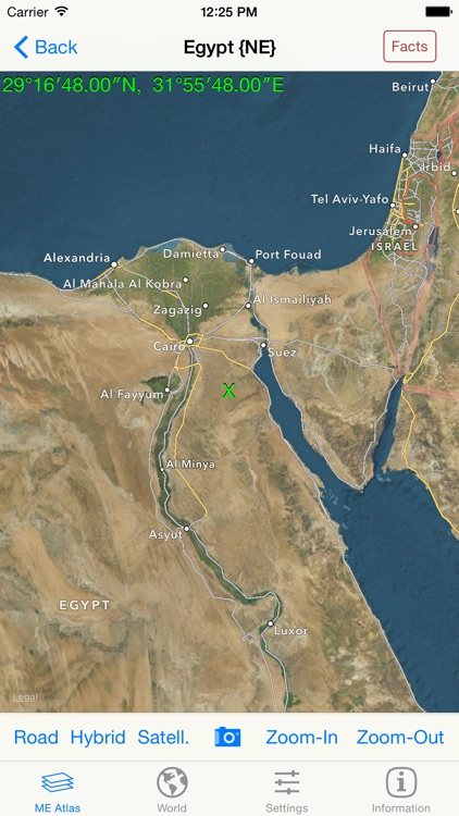 mapQWIK ME - Middle East Zoomable Atlas