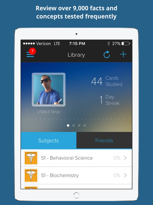 USMLE Step 1 Prep Flashcards on the App Store