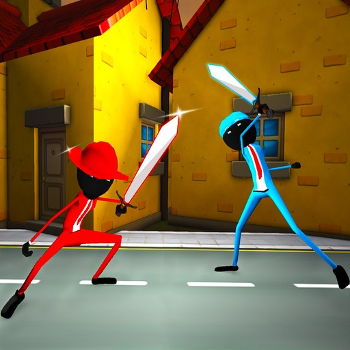 Stickman Ninja War Extreme Fight 3D