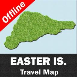 EASTER ISLAND – GPS Travel Map Offline Navigator
