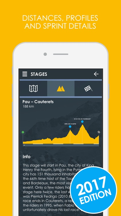 Cycling App - Tour de France 2017