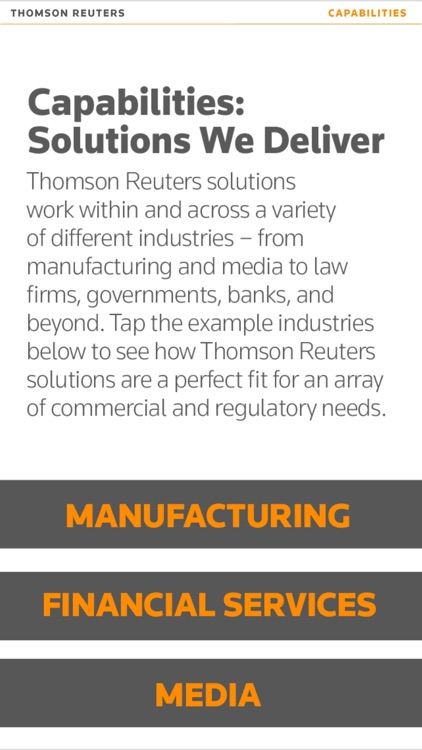Thomson Reuters Our Story screenshot-4