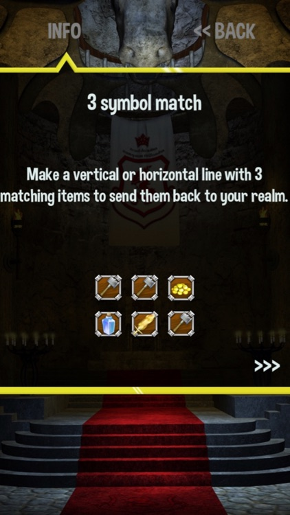 War Dragons Magic Dungeon - match 3 puzzle