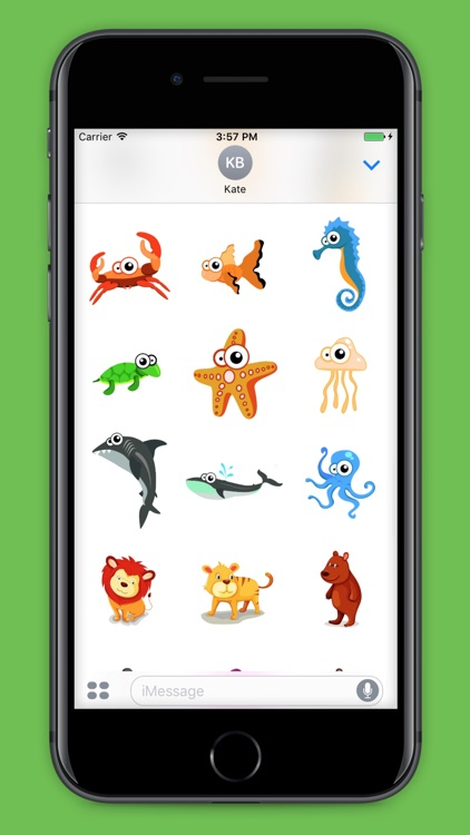 99 Animals Stickers screenshot-3
