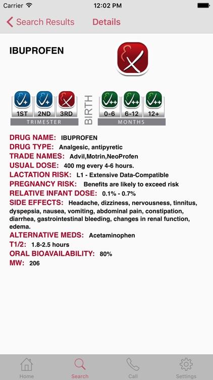 InfantRisk Center Health Care Mobile Resource screenshot-4