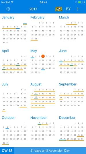 Aplikacja X Calendar W App Store