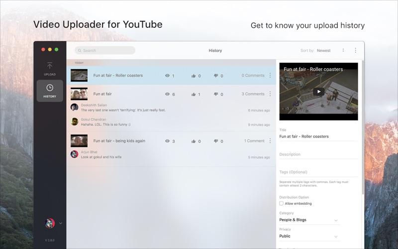 Video Uploader for YouTube скриншот программы 5