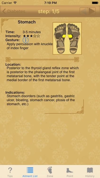 Foot reflexology: home remedy for chronic diseases screenshot-1